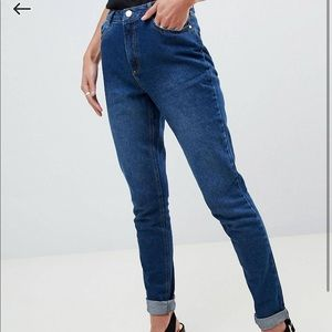 Tall High Rise Mom Jeans